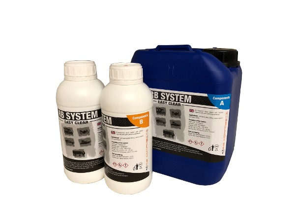 Resina epox EASY CLEAR SYSTEM kit da 14,3 kg - slow